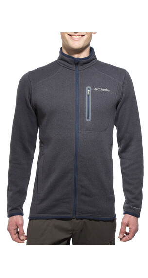 Columbia Altitude Aspect Full Zip Men India Ink/Black Heather